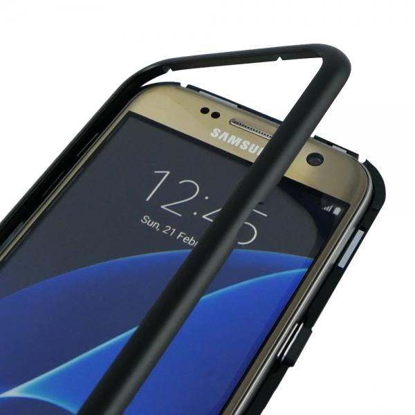 Husa 360 Magnetic Case pentru Samsung Galaxy S7, Negru