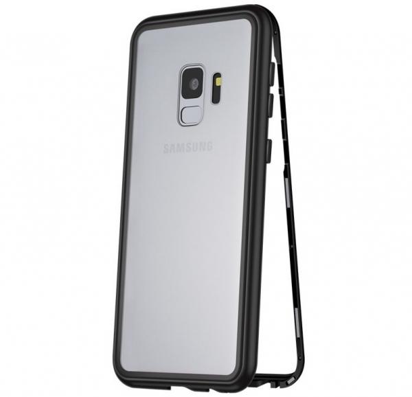 Husa 360 Magnetic Case pentru Samsung Galaxy S9 Plus, Negru