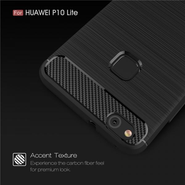 Husa Air Carbon Huawei P10 Lite, Negru