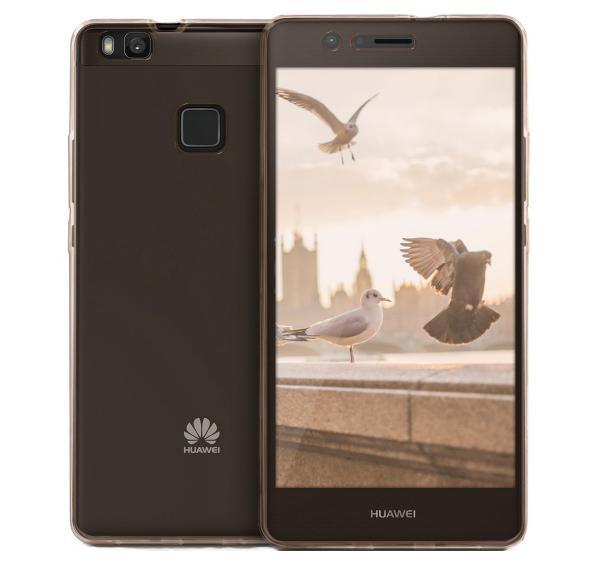 Husa Full TPU 360 (fata + spate) pentru Huawei P9 Lite, Rose Gold Transparent