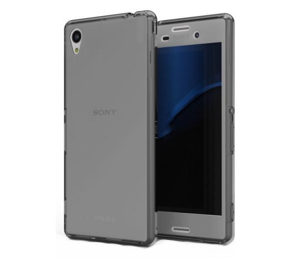 Husa Full TPU 360 (fata + spate) pentru Sony Xperia Z3, Gri transparent