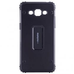 Capac de protectie Samsung Galaxy J7 (2016), Motomo Armor Hybrid, Negru