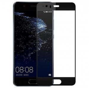 Folie sticla securizata 5D Full Glue Huawei P10, Negru