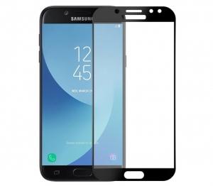 Folie sticla securizata 5D Full Glue Samsung Galaxy J5 (2017), Negru