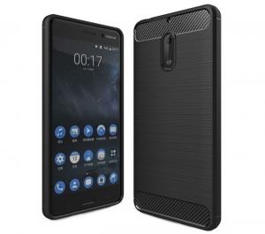 Husa Air Carbon Nokia 6, Negru