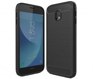 Husa Air Carbon Samsung Galaxy J3 (2017), Negru