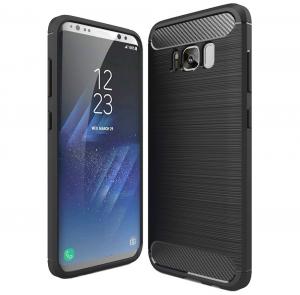 Husa Air Carbon Samsung Galaxy S8, Negru