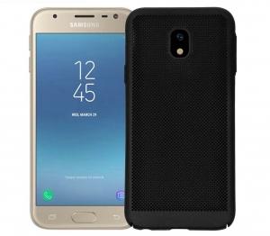 Husa Air cu perforatii Samsung Galaxy J3 (2017), Negru