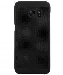 Husa Air cu perforatii Samsung Galaxy S6 Edge, Negru