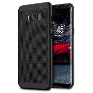 Husa Air cu perforatii Samsung Galaxy S8 Plus, Negru