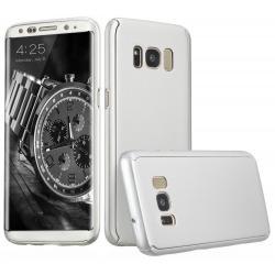 Husa Full Cover 360 Samsung Galaxy S8, Silver