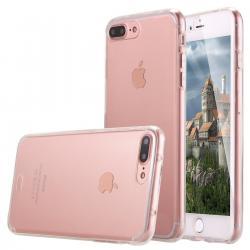 Husa Full TPU 360 (fata + spate) pentru Apple iPhone 7 Plus, Transparent