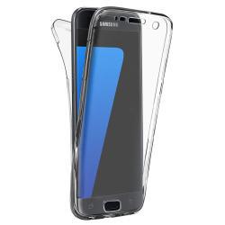 Husa Full TPU 360 (fata + spate) pentru Samsung Galaxy S6, Transparent