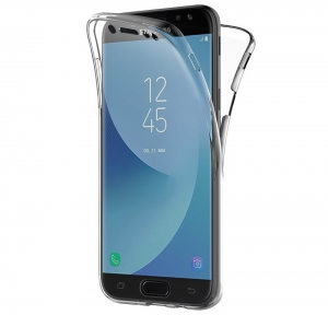 Husa Full TPU 360 fata spate Samsung Galaxy J5 (2017), Transparent