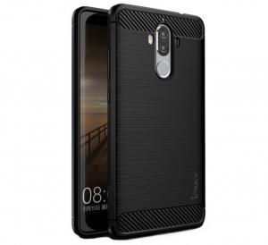 Husa Huawei Mate 9 iPaky Fiber, Negru