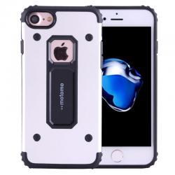 Husa Motomo Armor Hybrid iPhone 6 Plus / 6S Plus, Silver