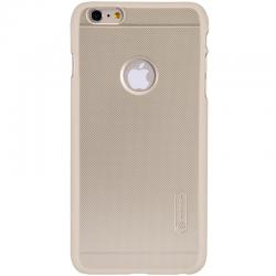 Husa Nillkin Frosted + folie protectie iPhone 6 / 6S, Gold