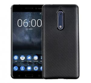Husa Nokia 5 i-Zore Carbon, Negru