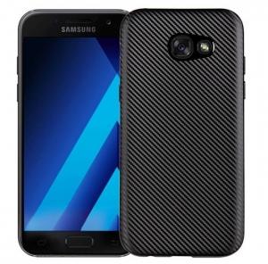 Husa Samsung Galaxy A3 (2017) i-Zore Carbon, Negru