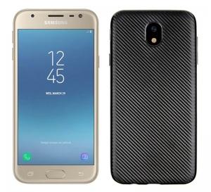Husa Samsung Galaxy J3 (2017) i-Zore Carbon, Negru