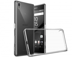 Husa Sony Xperia Z5 Premium TPU Slim, Transparent