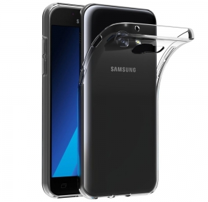 Husa TPU Slim Samsung Galaxy A3 (2017), Transparent